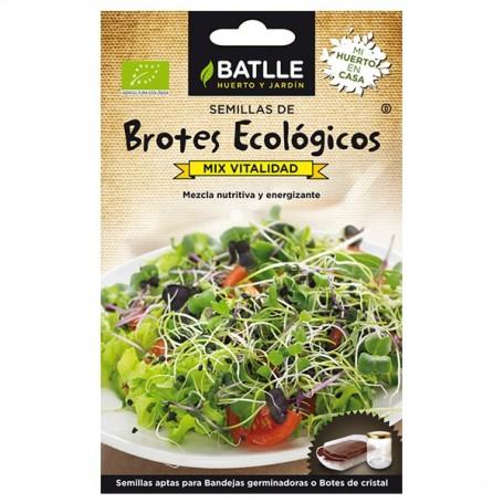 Semillas Brotes Mix Vitalidad Bio 15 gr. Batlle.
