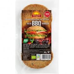 Hamburguesa Seitán BBQ Ecológico 2x80 gr. Biográ