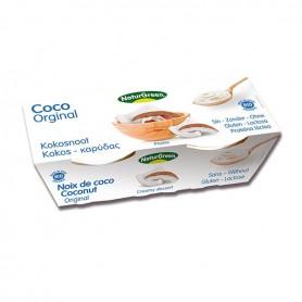 Postre Coco Original Ecológico 2x125 gr. Naturgreen