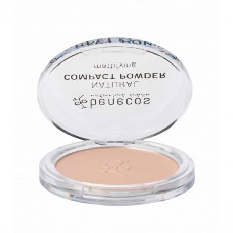 Maquillaje Polvo Compacto Sand Bio 9 gr. Benecos