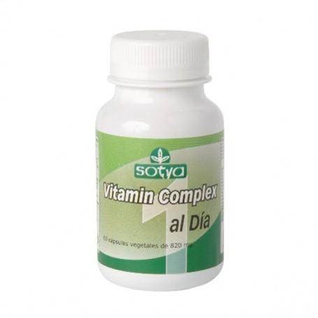 Complejo Vitaminas 1 al día 820 mg. 60 ud. Sotya