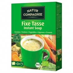 Sopa instantánea Verduras Bio 3x18 gr. Natur Compagnie