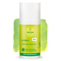 Desodorante Citrus roll on Bio 50 ml. Weleda
