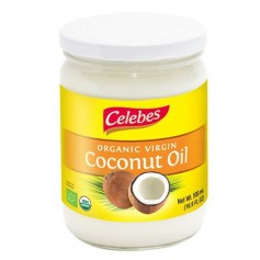 Aceite Coco Virgen Extra Bio 500 ml. Celebes