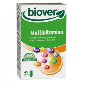 Multivitaminas 1 al día 45 compr. Biover