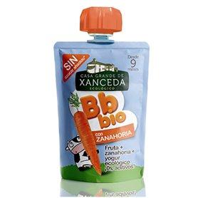 Bebida Yogur Zanahoria + Fruta.  Ecológico  90 gr. Xanceda
