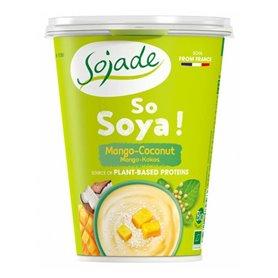 Yogur Soja Mango Coco Ecológico 400 gr. Sojade