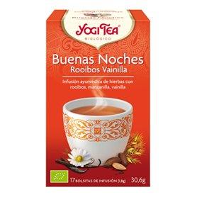 Infusión Buenas Noches Rooibos Ecológico 17 ud. Yogui Tea
