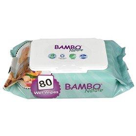 Toallitas húmedas bebé ecológicas 80 ud. Bambo