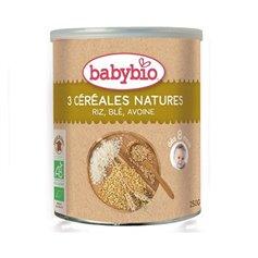 3 Cereales Infantiles Bio 250 gr. Babybio