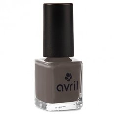 Esmalte Laca Uñas Natural Bistre 7 ml. Avril