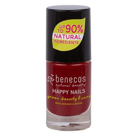 Esmalte Laca Uñas Cherry Red 9 ml. Benecos