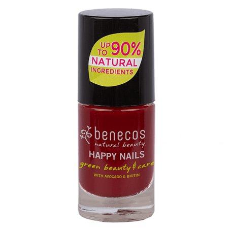 Esmalte Laca Uñas Cherry Red 9 ml. Benecos